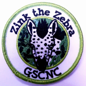 Zink the Zebra Patch