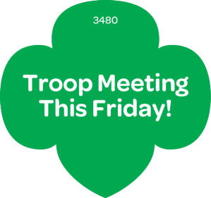 Reminder Troop Meeting Tomorrow Friday Nov 9 Pgma Girl Scouts